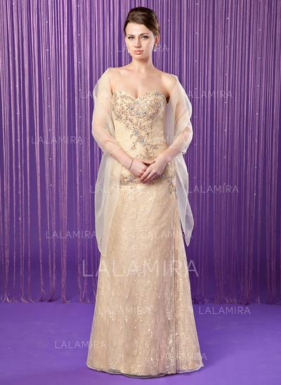 Vestido tubo Novio Encaje Precioso Vestidos de madrina (008211453)