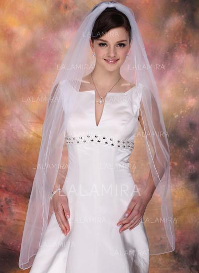 Velos de novia vals Tul Uno capa Mantilla con Lápiz Velos de novia (006020342)