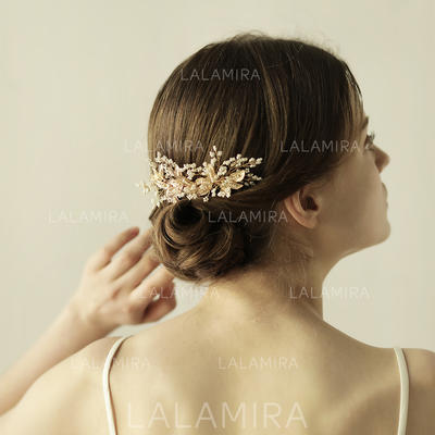 "Combs & Barrettes Wedding Alloy 2.56""(Approx.6.5cm) 4.33""(Approx.11cm) Headpieces (042158888)"