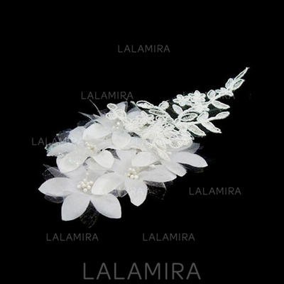 """Headbands Wedding/Special Occasion Lace/Satin 5.91""""(Approx.15cm) 1.97""""(Approx.5cm) Headpieces (042153236)"""