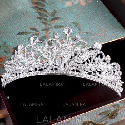 "Tiaras Wedding/Special Occasion/Party Rhinestone/Alloy/Imitation Pearls 1.97""(Approx.5cm) 5.31""(Approx.13.5cm) Headpieces (042157841)"
