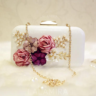 "Clutches/Satchel Wedding/Ceremony & Party Patent Leather Clip Closure 7.87""(Approx.20cm) Clutches & Evening Bags (012187774)"