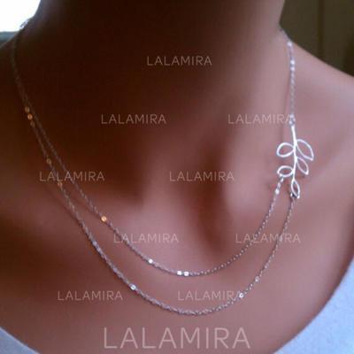 Necklaces Alloy Lobster Clasp Ladies' Unique Wedding & Party Jewelry (011165987)