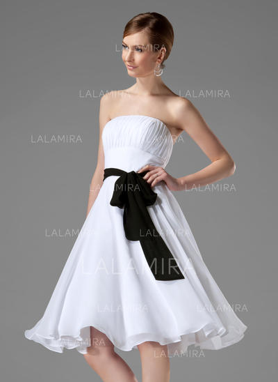 Women Chiffon With Bow Sash Simple Sashes & Belts (015190907)