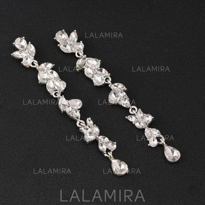 Pendientes Aleación/Diamantes de imitación Perforado Señoras' Encanto Joyas de boda & fiesta (011107495)