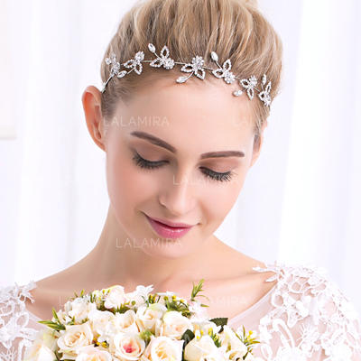 Headbands Wedding/Party Rhinestone/Alloy Glamourous Ladies Headpieces (042158799)