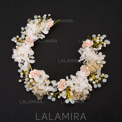 "Headbands Wedding/Special Occasion/Party Rhinestone 14.57 ""(Approx.37cm) 2.17""(Approx.5.5cm) Headpieces (042158382)"