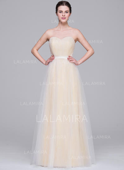 Newest Tulle Wedding Dresses With A-Line/Princess Sweetheart (002210664)