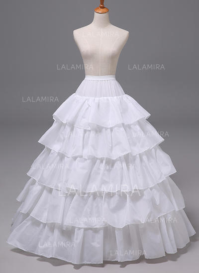 Petticoats Polyester A-Line Slip 6 Tiers Wedding Petticoats (037190872)
