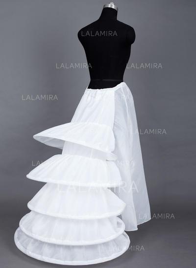 Bustle Floor-length Taffeta Ball Gown Slip/Full Gown Slip 1 Tiers Petticoats (037190764)