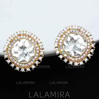 Pendientes Aleación/Diamantes de imitación Perforado Señoras' Romántico Joyas de boda & fiesta (011122095)