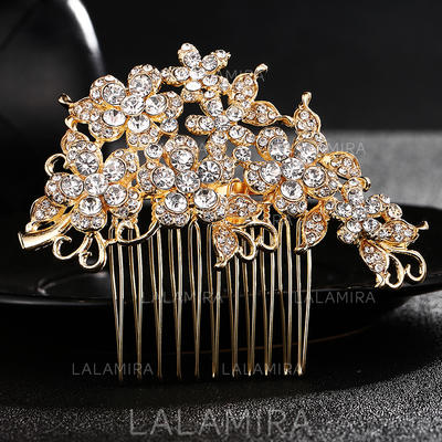 Combs & Barrettes/Scarf Wedding Alloy Gorgeous (Sold in single piece) Headpieces (042159064)