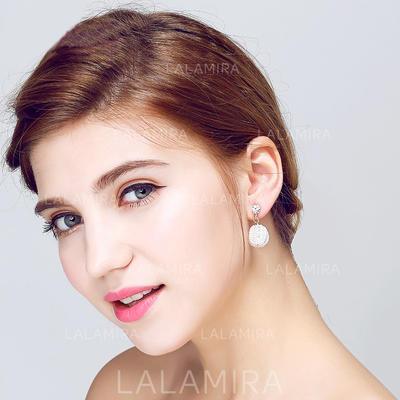 Pendientes Perla/Diamantes de imitación Perforado Señoras' Elegante Joyas de boda & fiesta (011075743)