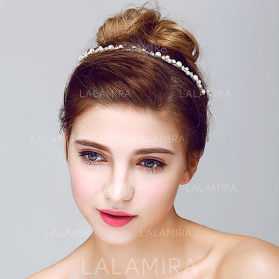 """Headbands Wedding/Special Occasion/Outdoor/Party Rhinestone/Alloy/Imitation Pearls 9.25""""(Approx.23.5cm) 0.20""""(Approx.0.5cm) Headpieces (042156244)"""