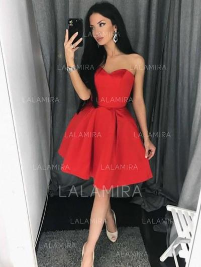 Delicate Homecoming Dresses A-Line/Princess Short/Mini Sweetheart Sleeveless (022216372)