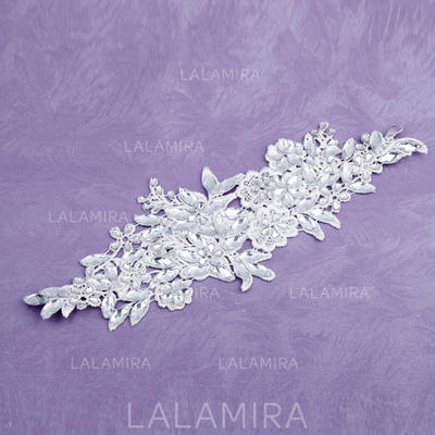 """Headbands Special Occasion Rhinestone/Lace 11.8""""(Approx.30cm) 5.91""""(Approx.15cm) Headpieces (042153167)"""