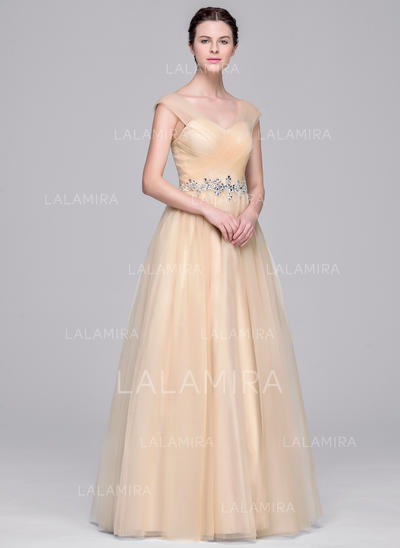 Modern Tulle Wedding Dresses With Ball-Gown Sweetheart (002210663)