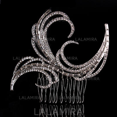 """Combs & Barrettes Wedding/Special Occasion Alloy 3.35""""(Approx.8.5cm) 3.35""""(Approx.8.5cm) Headpieces (042156316)"""