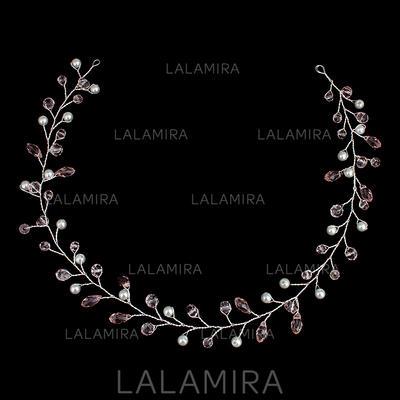 """Diademas Boda La perla de faux 16.54""""(Aprox.42cm) 1.18""""(Aprox.3cm) Cintillos (042136758)"""