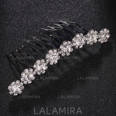 "Combs & Barrettes Wedding/Special Occasion Rhinestone/Alloy 2.99""(Approx.7.6cm) 1.69""(Approx.4.3cm) Headpieces (042158045)"