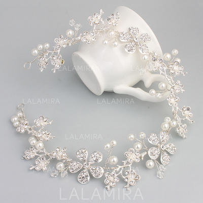 "Headbands Wedding Alloy 13.39""(Approx.34cm) 1.38""(Approx.3.5cm) Headpieces (042159241)"