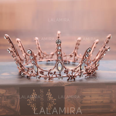 "Tiaras Wedding/Party Rhinestone/Alloy 5.71""(Approx.14.5cm) 2.36""(Approx.6cm) Headpieces (042158739)"