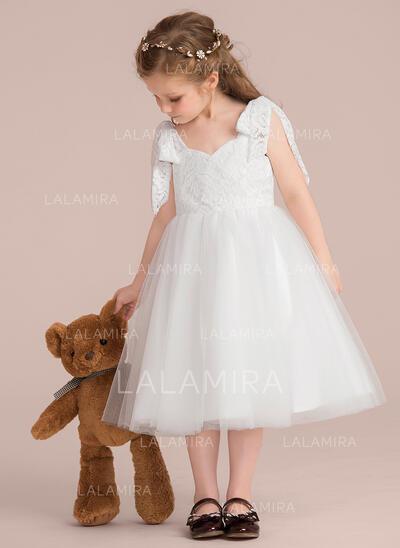 Ball Gown Knee-length Flower Girl Dress