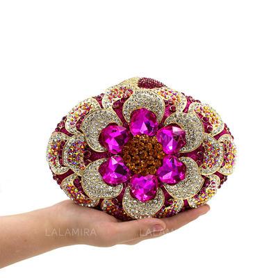 """Clutches/Luxury Clutches Wedding/Ceremony & Party Crystal/ Rhinestone Gorgeous 7.48""""(Approx.19cm) Clutches & Evening Bags (012186930)"""