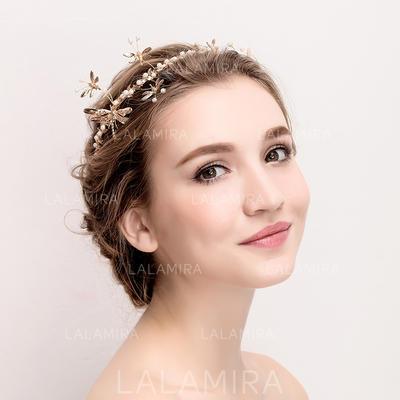 "Tiaras Wedding/Special Occasion Rhinestone/Alloy 14.17""(Approx.36cm) 3.15""(Approx.8cm) Headpieces (042158364)"