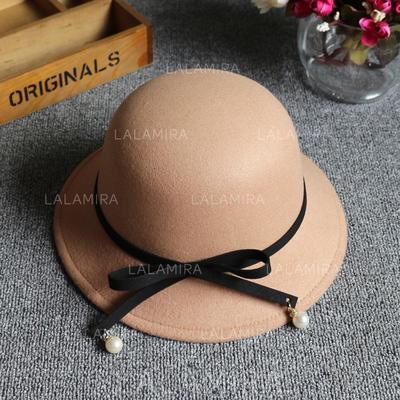 Señoras' Estilo clásico Mezcla de lana Disquete Sombrero (196139349)