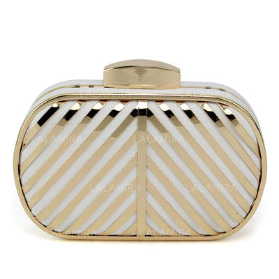 Clutches Wedding/Ceremony & Party PU Clip Closure Fashional Clutches & Evening Bags (012185122)
