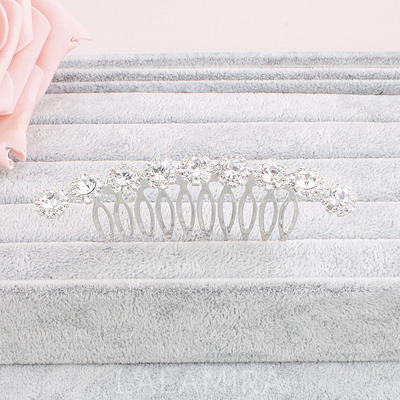 "Combs & Barrettes Wedding/Special Occasion/Party Crystal 2.99""(Approx.7.6cm) 1.69""(Approx.4.3cm) Headpieces (042156546)"