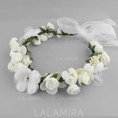Liikuttunut Häät Silkki kukka Lovely (Myyty yhtenä palana) Hiuskoristeet (042131418)