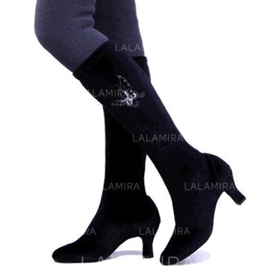 Women's Boots Pumps Fabric Dance Shoes (053181044)