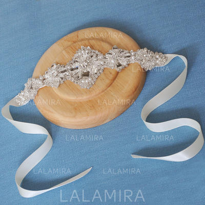 "Headbands Wedding/Special Occasion Satin 9.45""(Approx.24cm) 2.95""(Approx.7.5cm) Headpieces (042159193)"