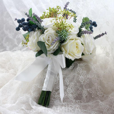 "Bridal Bouquets Hand-tied Wedding/Party Ribbon 9.06""(Approx.23cm) Wedding Flowers (123189248)"