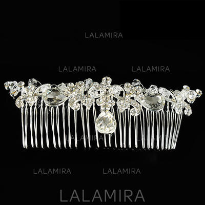 "Combs & Barrettes Wedding/Special Occasion Alloy 5.12""(Approx.13cm) 1.57""(Approx.4cm) Headpieces (042156353)"