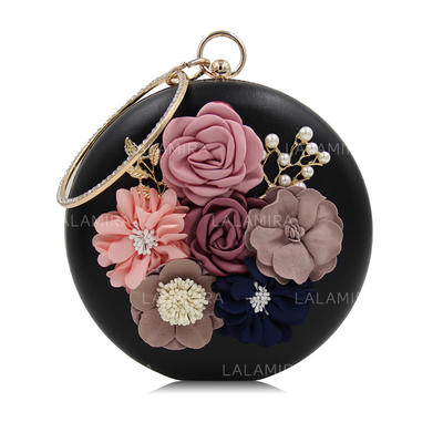 Clutches Wedding/Ceremony & Party PU Snap Closure Elegant Clutches & Evening Bags (012188118)