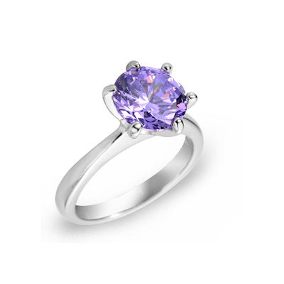 Rings Zircon/Platinum Plated Ladies' Elegant Wedding & Party Jewelry (011164843)