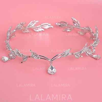 "Tiaras Wedding/Special Occasion/Party Rhinestone 6.69""(Approx.17cm) Beautiful Headpieces (042157293)"