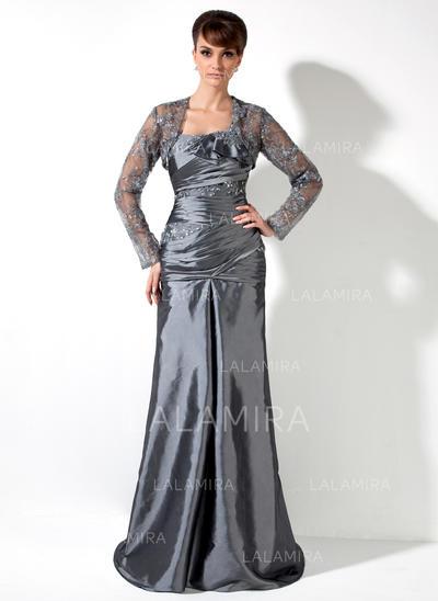Simple Taffeta One-Shoulder A-Line/Princess Mother of the Bride Dresses (008006082)