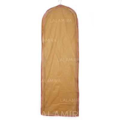 Klesposer Kappe lengde Side Glidelås Tyll/PVC Champagne Bag til Bryllupsklærne (035024122)