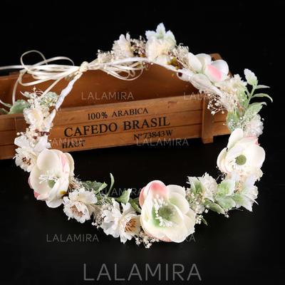 Damer Elegant Silke blomst Pannebånd (042138726)