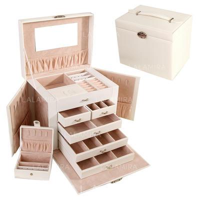 "Joyería caja Madera 10.24""(Aprox.26cm) 9.84 ""(Aprox.25cm) Joyas de boda & fiesta (011143834)"