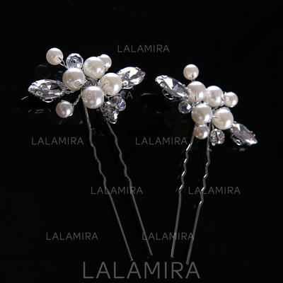 "Hairpins Wedding/Party Imitation Pearls 1.97""(Approx.5cm) 1.18""(Approx.3cm) Headpieces (042158155)"