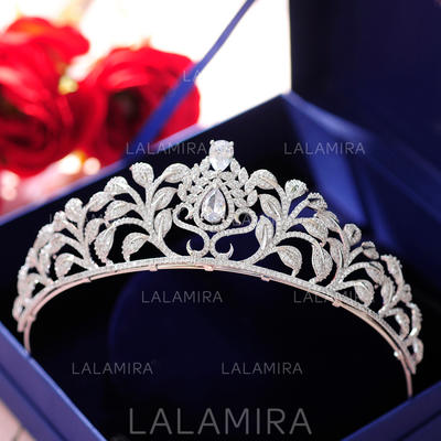 "Tiaras Wedding/Special Occasion/Party Alloy 1.77""(Approx.4.5cm) 5.51""(Approx.14cm) Headpieces (042158937)"