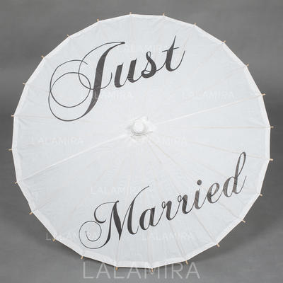 Wedding Umbrellas Bridal Parasols Women's Wedding Straight Handle Wedding Umbrellas (124148643)