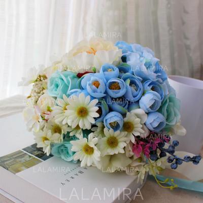 "Bridal Bouquets Round Wedding 10.24""(Approx.26cm) 10.24""(Approx.26cm) Wedding Flowers (123190290)"