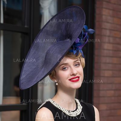 Net Yarn Bowler/Cloche Hat Elegant Ladies' Hats (196194447)