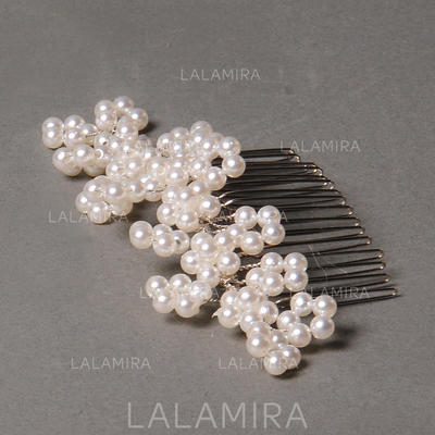 "Combs & Barrettes Wedding/Special Occasion/Party Freshwater Pearl 3.15""(Approx.8cm) 1.57""(Approx.4cm) Headpieces (042154435)"